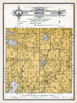 Orrock Township, Big Mud Lake, Eagle Lake, Josephine, Sherburne County 1914